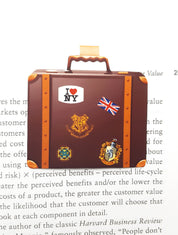 Newt Scamander suitcase bookmark
