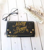 Harry Potter Mischief Managed wallet