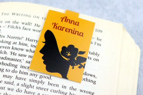 Anna Karenina magnetic bookmark