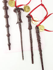 "Set of 4 Personalized ""Oliver Wood"" Wands"