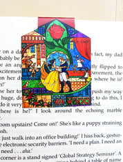 Beauty and The Beast magnetic bookmark