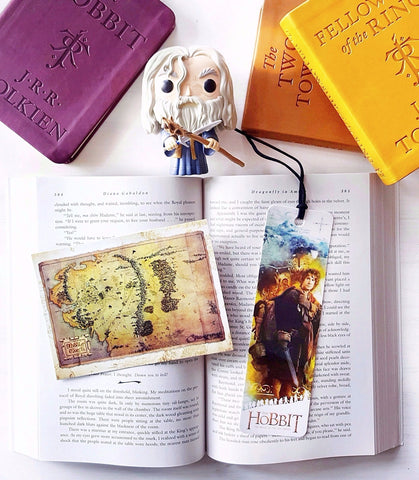 Lord of the Rings / Hobbit Bookmark & Postcard Set