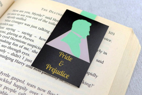 Pride and Prejudice magnetic bookmark