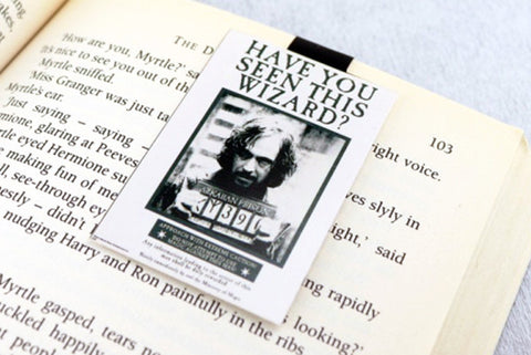Sirius Black magnetic bookmark