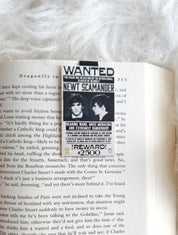 Newt Scamander magnetic bookmark