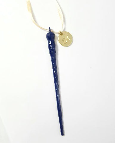"Personalized Ron Weasley ""Ravenclaw"" wand ornament"