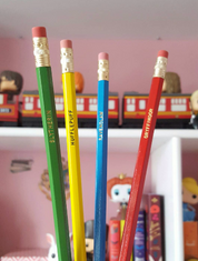 Hogwarts Houses set of 4 pencils