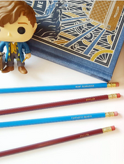 **Set of 4 Fantastic Beasts pencils**