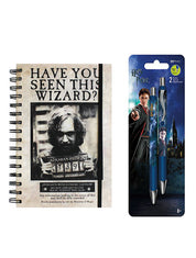 Sirius Black notebook and Pens Gift Set