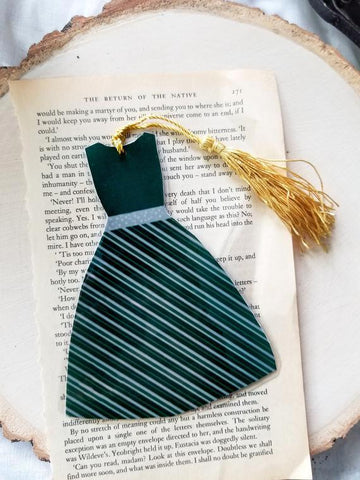 Slytherin Dress Bookmark