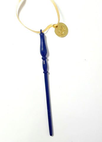 "Personalized ""Ravenclaw"" Luna Wand Ornament"
