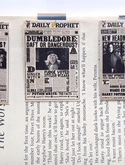 Set of 3 Harry Potter Daily Prophet Magnetic Bookmarks