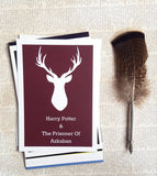 Set of 7 Harry Potter Minamilistic prints set