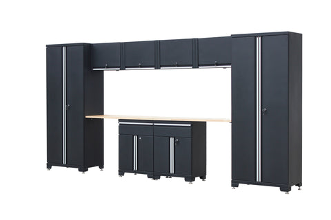 Classic 1.0 Series 10-Piece Garage Storage System - Black