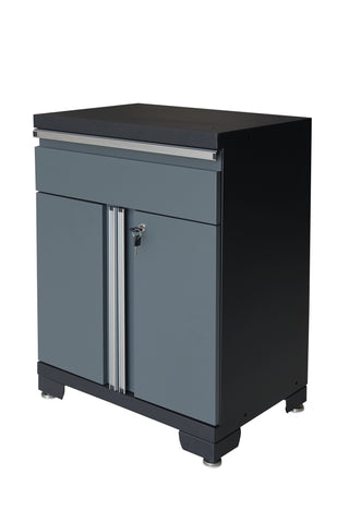 Classic 1.0 Series 1- Drawer 2-Door Base Cabinet - Gray
