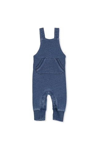 Fleece Denim Overall (000-1)