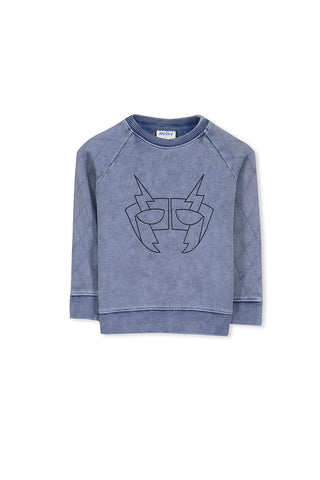 Mask Stitch Crew Sweat (3-7)
