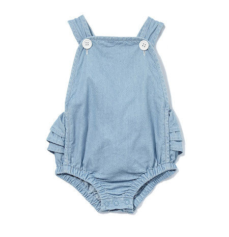 Chambray Playsuit (000-2)