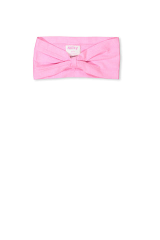 Infant Top Knot Headband -Pink