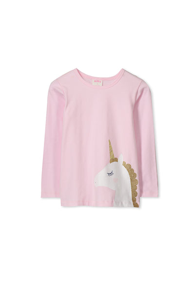 Unicorn Long Sleeve Tee (2-7)