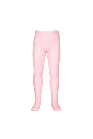 Jacquard Tights - Pink (00-2)