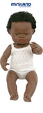 Miniland Anatomically Correct 38cm Doll, African Boy