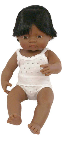 Miniland Anatomically Correct 38cm Doll, Latin American Boy **More on their way