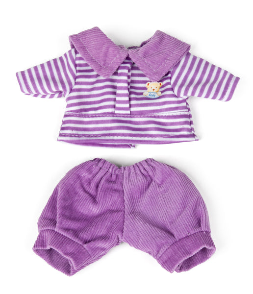 Miniland Wardrobe Purple Trousers & Top for 21cm Doll