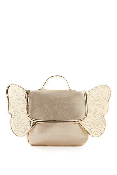 Butterfly Backpack - Gold