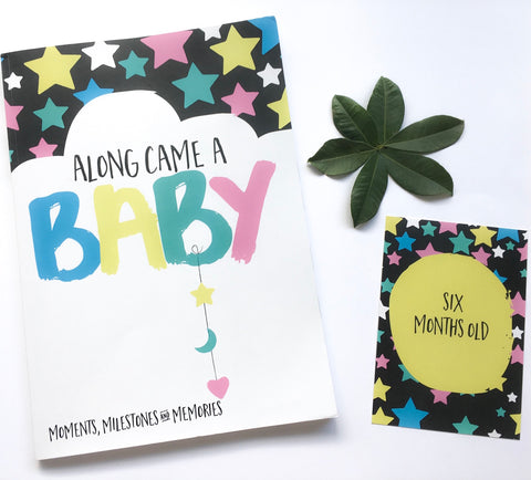 Along Came a Baby Bundle - Book and Cards