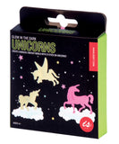 Glow in the Dark Unicorn Fantasy Stickers