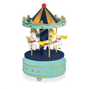 Musical Carousel - Blue