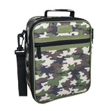 Insulated Lunch Tote - Camo Green