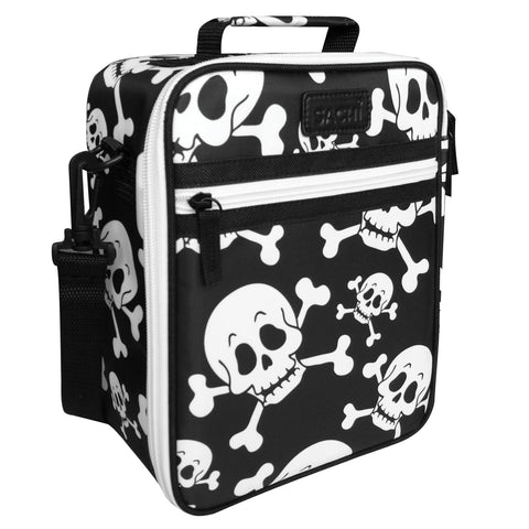 Sachi Personalised Lunch Tote - Skulls
