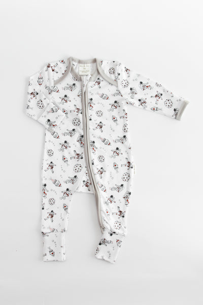 Zip Up Onesie - Astronaut