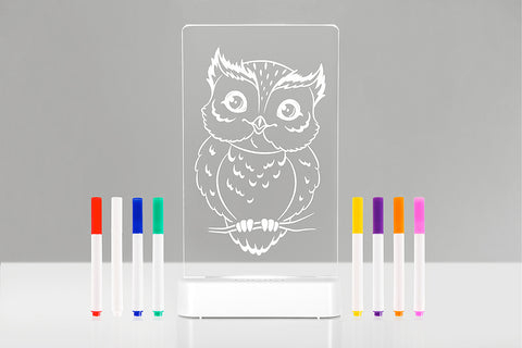 Colour and Shine Sleepylight - Owl