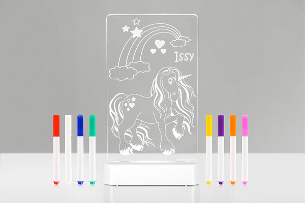 Unicorn Colour and Shine Dual Powered Sleepylight