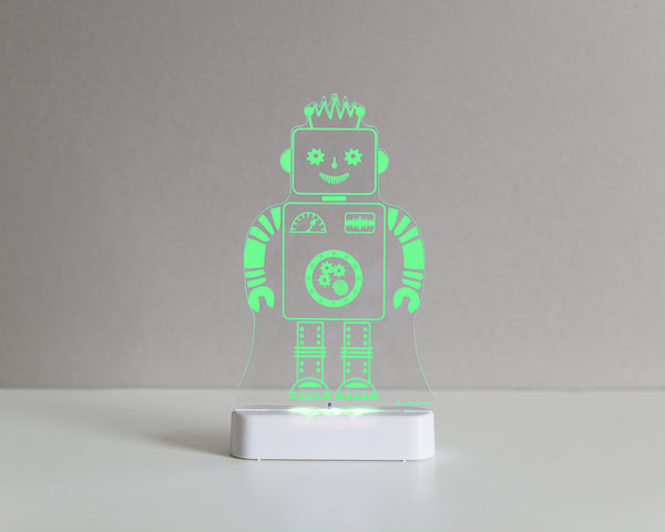 Robot Sleepy Light (Dual Powered)