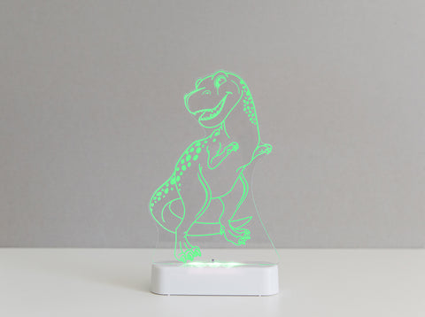 T-Rex Dinosaur Sleepy Light (Dual Powered)