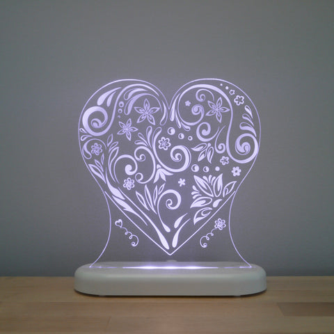 Love Heart Sleepy Light (Dual Powered)