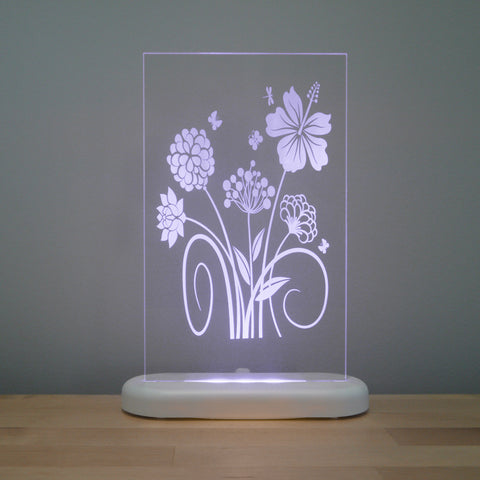 Flowers Night Light