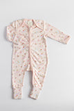 Zip Up Onesie -Ballerina