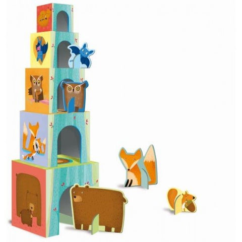 Baby Forest Animals Building Block Set