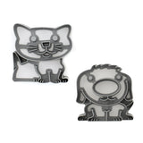 Lunch Punch Pairs Sandwich Cutters - Paws