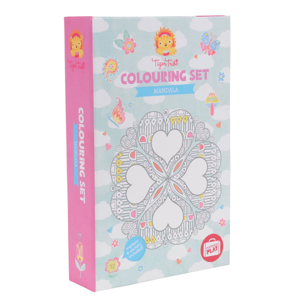 Mandala Colouring Set