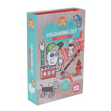 Tiger Tribe Colouring Set - Street Art