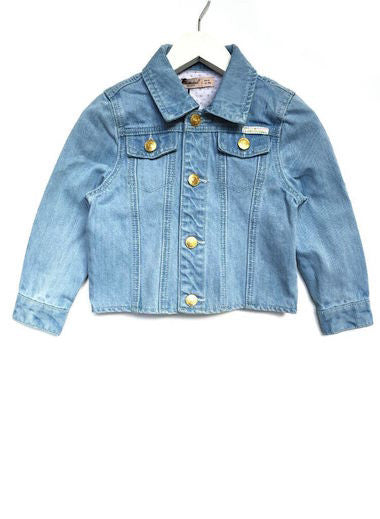 Fresh Baked Kids Sky Blue Denim Jacket