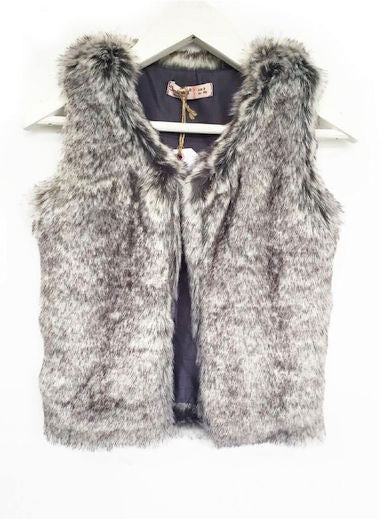 Fresh Baked Kids Fur Vest