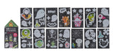 Glow in the dark stickers - Haunted House