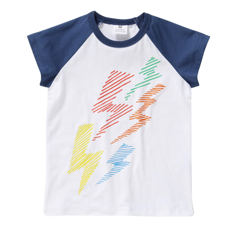 Little Rainbow Bolt Tee